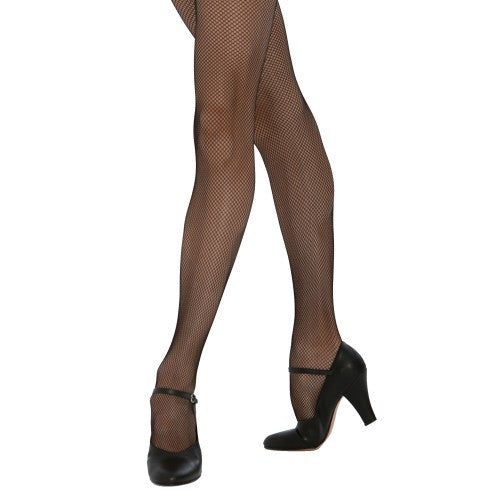 Front - Silky Big Girls Dance Fishnet Tights (1 Pair)