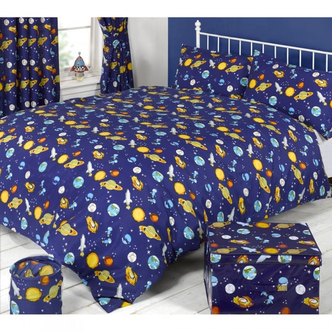Front - Mucky Fingers Childrens Spaceman Duvet Cover Bedding Set
