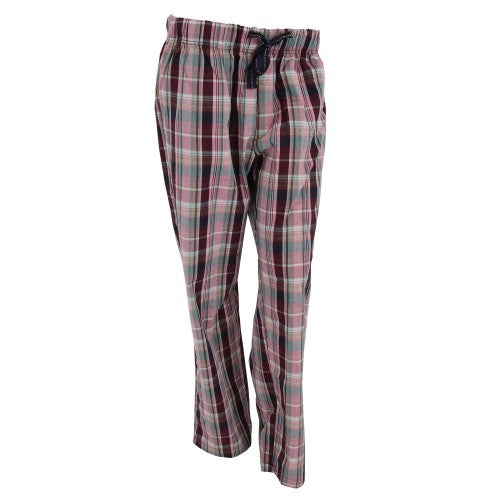 Front - Womens Plaid Lounge Pants / PAjama Bottoms / Ladies Nightwear