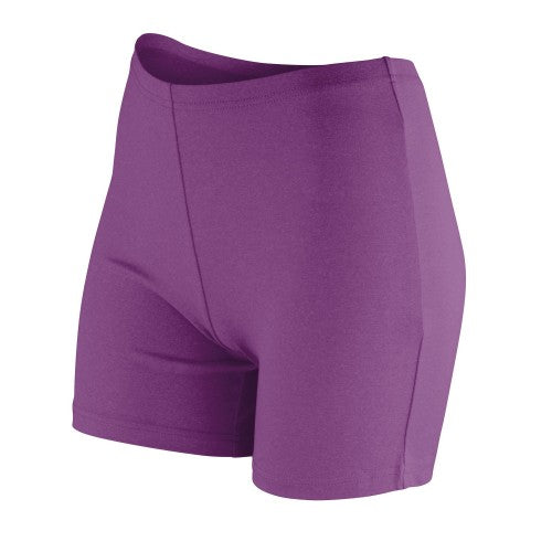 Front - Spiro Womens/Ladies Impact Softex Quick Dry Shorts