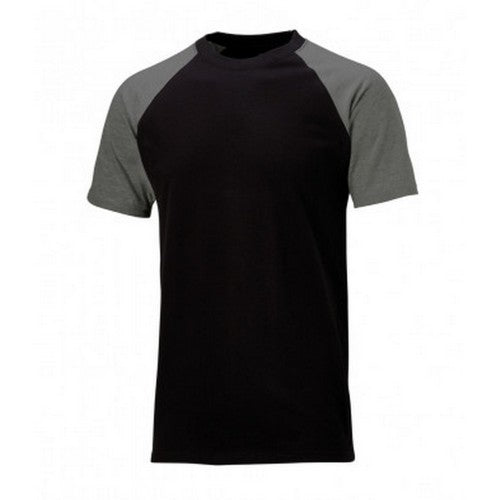 Front - Dickies Mens Two Tone T-Shirt