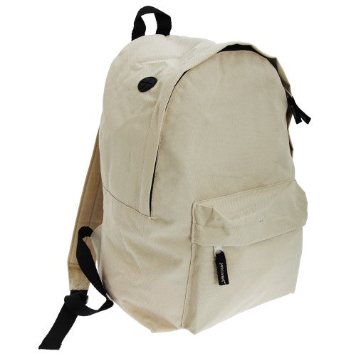 Front - SOLS Rider Backpack / Rucksack Bag