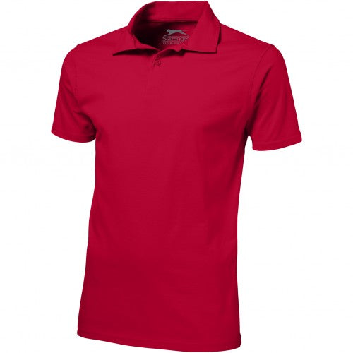 Front - Slazenger Mens Let Short Sleeve Polo
