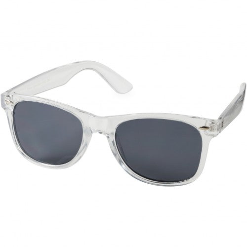Front - Bullet Sun Ray Crystal Frame Sunglasses