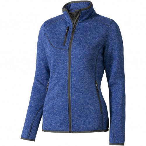 Front - Elevate Womens/Ladies Tremblant Knit Jacket