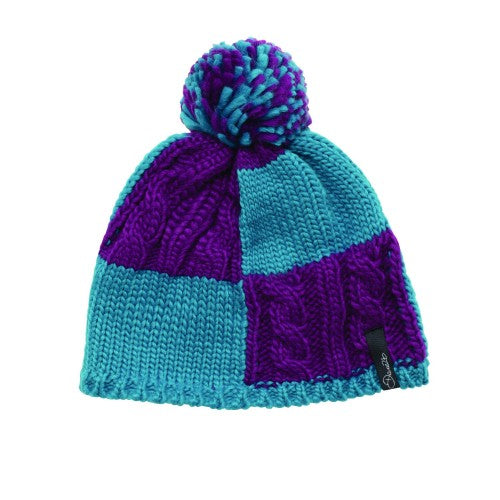Front - Dare 2B Childrens/Girls Reverie Knitted Beanie Hat