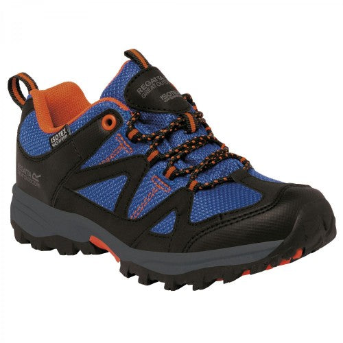 Front - Regatta Childrens/Kids Gatlin Low Walking/Hiking Shoes