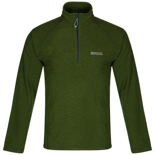 Front - Regatta Great Outdoors Mens Montes Funnel Neck Fleece Jumper