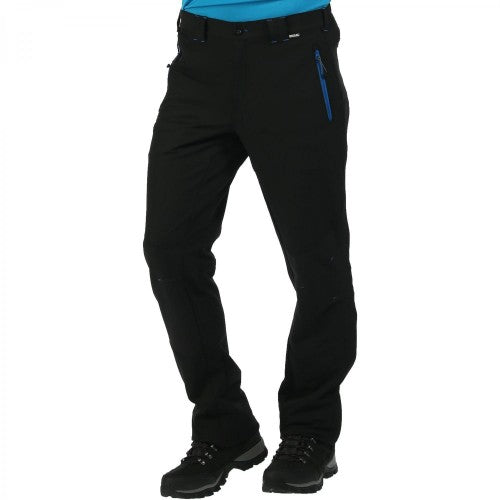 Front - Regatta Great Outdoors Mens Questra Windproof Trousers/Pants