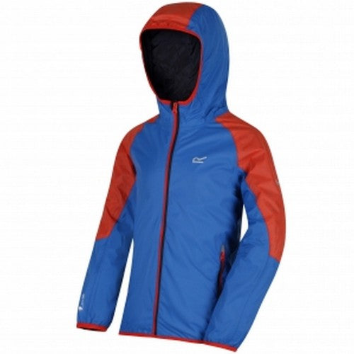 Front - Regatta Great Outdoors Childrens/Kids Teega Reflective Waterproof Hooded Jacket