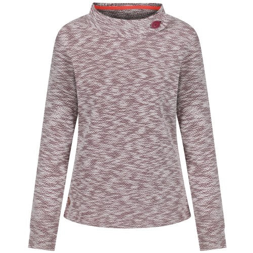 Front - Regatta Womens/Ladies Calandra Fleece Jumper