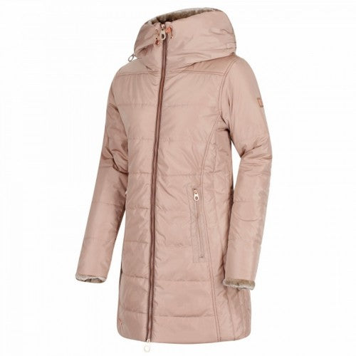 Front - Regatta Womens/Ladies Pernella Full Length Hooded Jacket