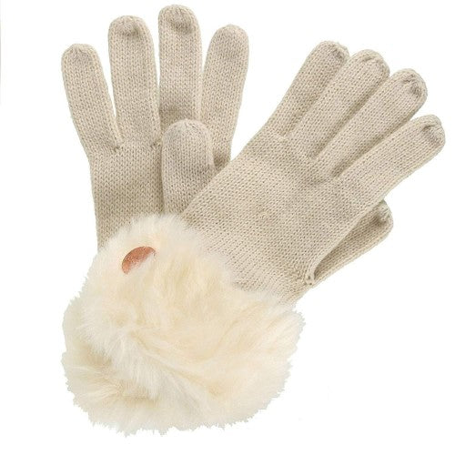 Front - Regatta Great Outdoors Womens/Ladies Luz Jersey Knit Gloves