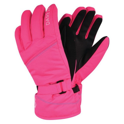 Front - Dare 2b Girls Impish Ski Gloves