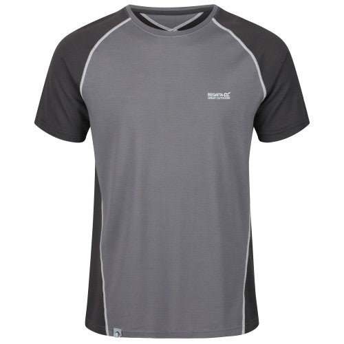 Front - Regatta Mens Tornell II Active T-Shirt