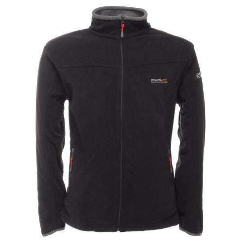 Front - Regatta Great Outdoors Mens Adventure Tech Stanton II Fleece Top
