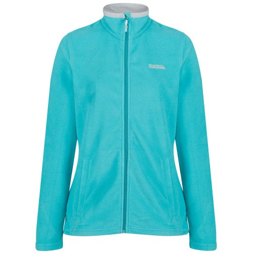 Front - Regatta Great Outdoors Womens/Ladies Adventure Tech Clemance II Fleece Top