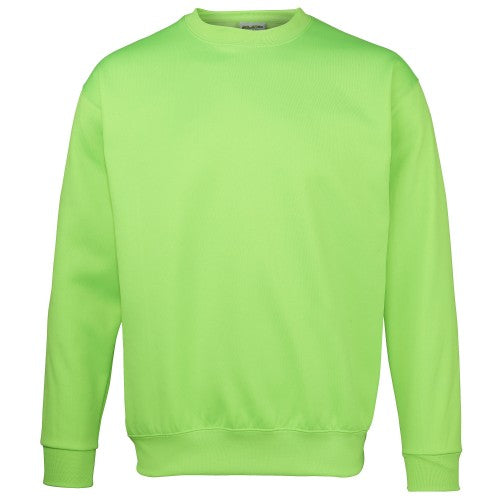 Front - Awdis Mens Electric Sweatshirt