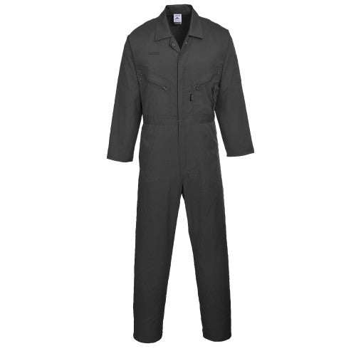 Front - Portwest Mens Liverpool Zip Up Protective Workwear Coverall