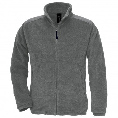 Front - B&C Mens Icewalker+ Full Zip Fleece Top