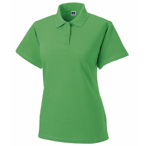 Front - Russell Europe Womens/Ladies Classic Cotton Short Sleeve Polo Shirt
