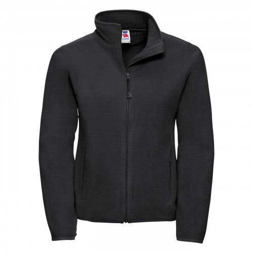 Front - Russell Europe Womens/Ladies Full Zip Fitted Anti-Pill Microfleece Top