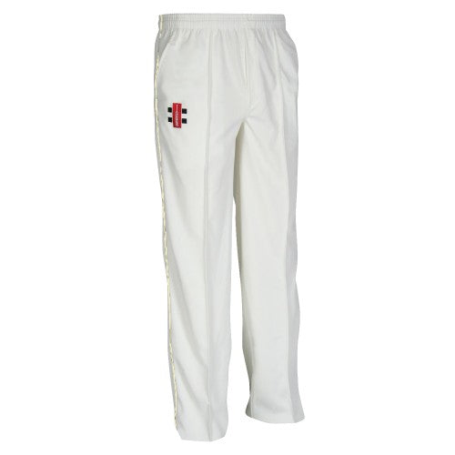 Front - Gray-Nicolls Children/Kids Matrix Cricket Trousers