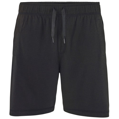Front - Comfy Co Mens Elasticated Lounge Shorts