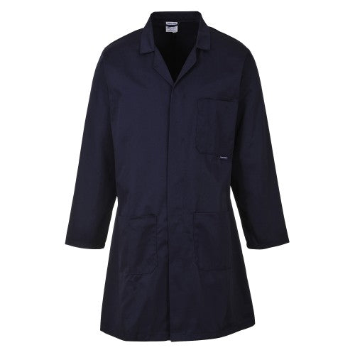 Front - Portwest Standard Workwear Lab Coat (Medical Health) (Pack of 2)