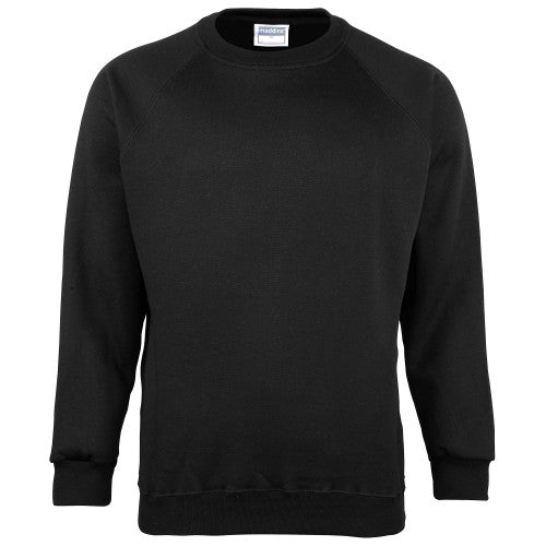 Front - Maddins Mens Colorsure Plain Crew Neck Sweatshirt