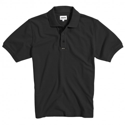 Front - Musto Mens Classic Pique Short Sleeve Polo Shirt