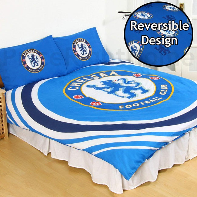 Front - Chelsea FC Reversible Pulse Duvet Set