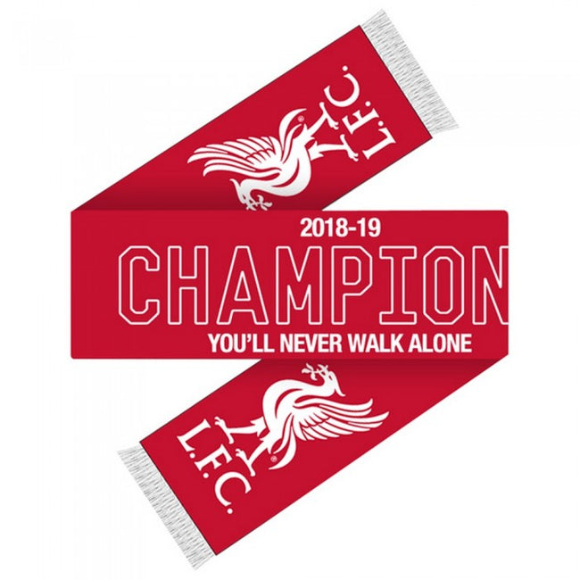 Front - Liverpool FC Champions Scarf