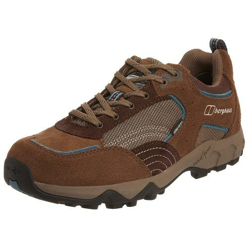 Front - Berghaus Womens/Ladies Explorer Low Cut Gore-Tex Leather Walking Shoes