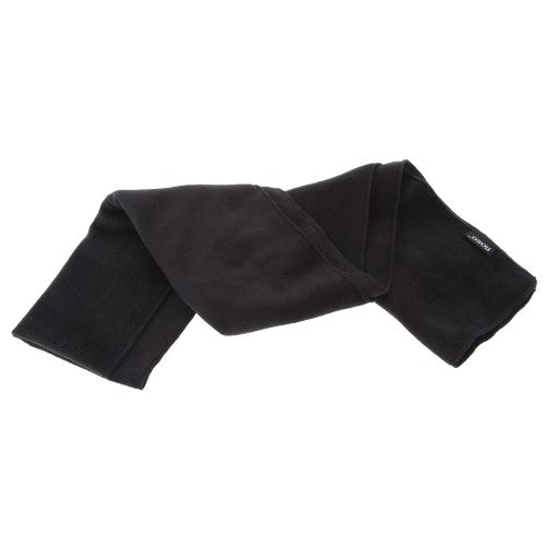 Front - FLOSO Mens Plain Thermal Polar Fleece Winter/Ski Scarf