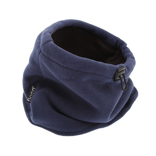Front - FLOSO Mens Fleece Thermal Winter Neck Snood