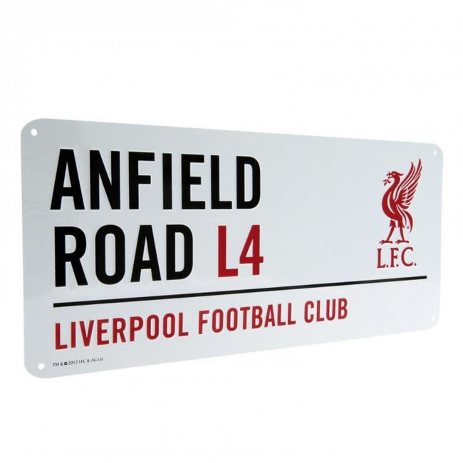 Front - Liverpool FC Official Street Sign