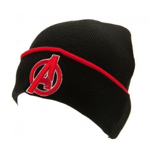 Front - Avengers Childrens/Kids Turn-Up Knitted Hat