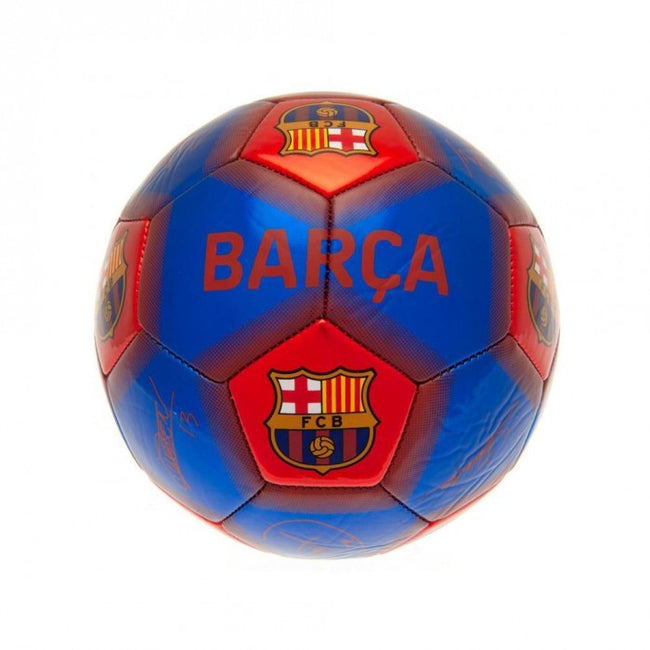 Front - FC Barcelona Signed Skill Football
