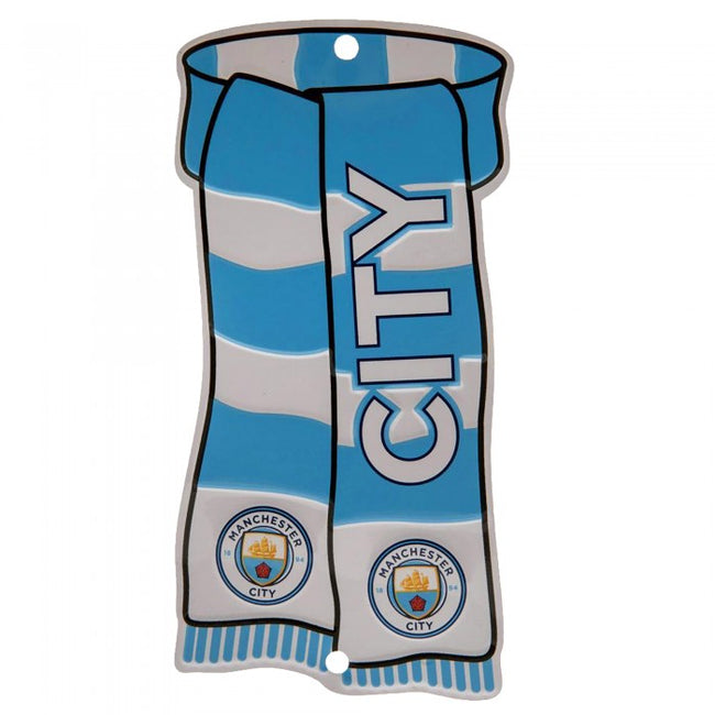 Front - Manchester City FC Official Show Your Colors Window Sign