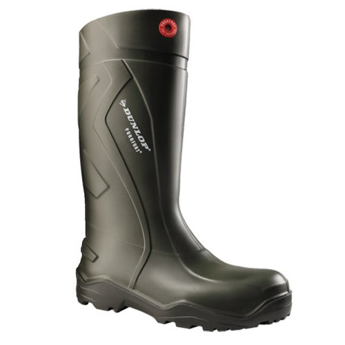 Front - Dunlop Adults Unisex Purofort Plus Wellies