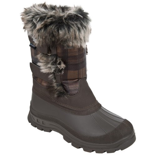 Front - Trespass Womens/Ladies Brace Winter Snow Boots