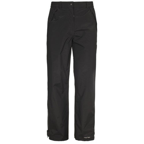 Front - Trespass Womens/Ladies Miyake Waterproof Trousers