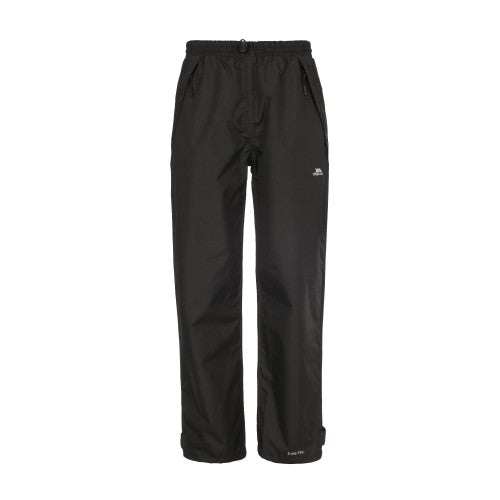Front - Trespass Womens/Ladies Tutula Waterproof Pants/Trousers
