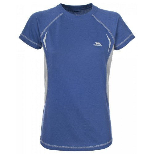 Front - Trespass Womens/Ladies Emmie Active Short Sleeve Baselayer Top