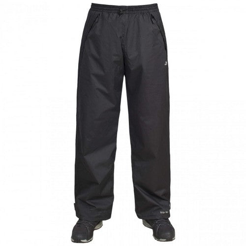 Front - Trespass Mens Toliland Waterproof & Windproof Trousers