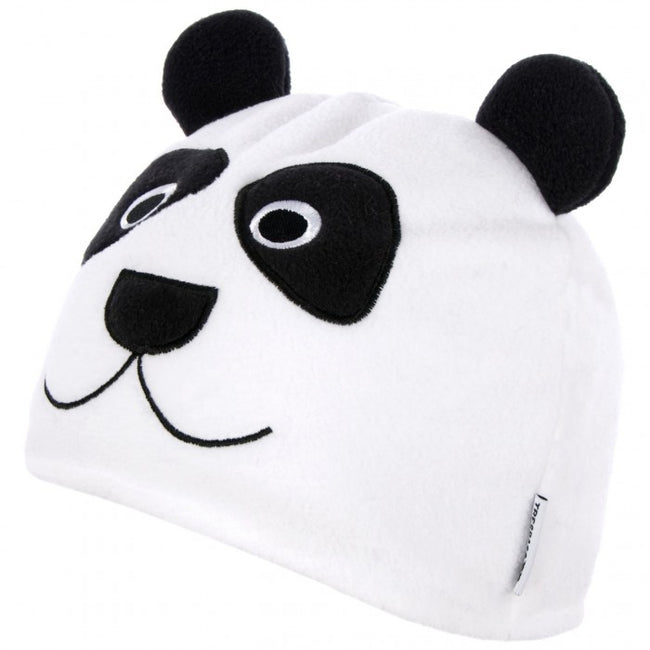 Front - Trespass Childrens/Kids Bamboo Panda Design Beanie Hat