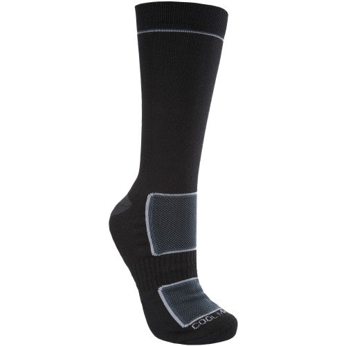 Front - Trespass Mens Rizzle Coolmax Hiking Boot Socks (1 Pair)