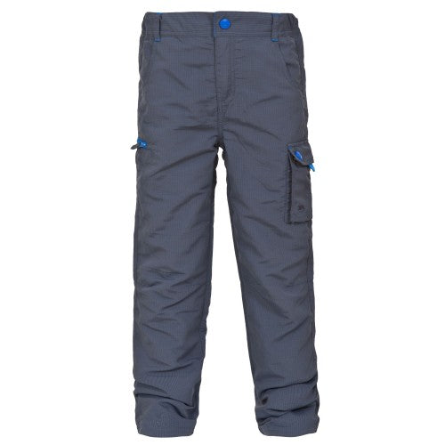 Front - Trespass Childrens Boys Sampson Walking Trousers/Pants