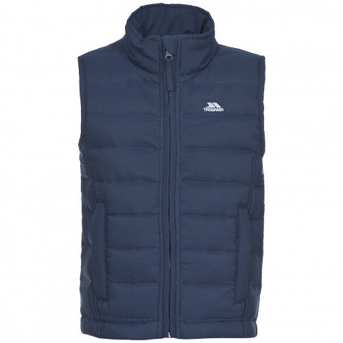 Front - Trespass Childrens/Kids Jadda Quilted Sleeveless Gilet